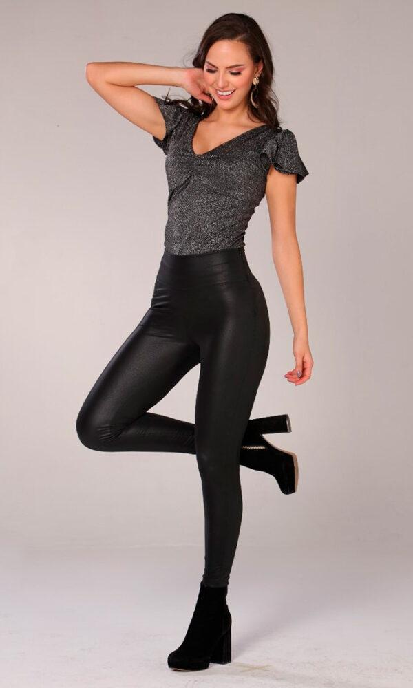 Leggins-para-mujer-al-por-mayor-leggins-de-moda-San-alejo-moda-ref-DIAMOND-frente-negro